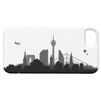 Duesseldorf skyline iPhone 5 sleeve/Case iPhone 5 Hülle