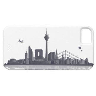 Duesseldorf skyline iPhone 5 sleeve/Case iPhone 5 Schutzhüllen