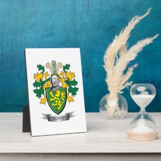 Duffy Wappen Fotoplatte