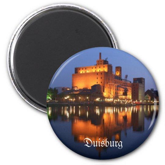 Duisburg Innehafen Runder Magnet 5,7 Cm