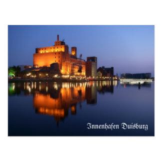 Duisburg Innenhafen Postkarte