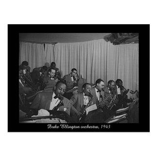 Duke Ellington-Orchester, 1943 Postkarte