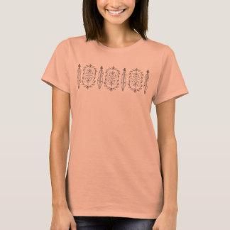 Dulcimer-T - Shirt der Frauen Gebirgs