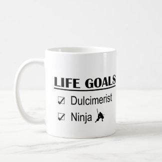 Dulcimerist Ninja Leben-Ziele Kaffeetasse
