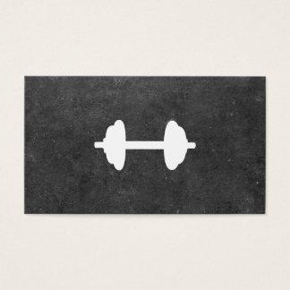 Dumbbell-persönlicher Trainer (Schiefer) Visitenkarte