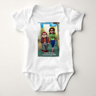 Dumme aber lustige Geschenk-T-Shirts-Karten-Tassen Baby Strampler