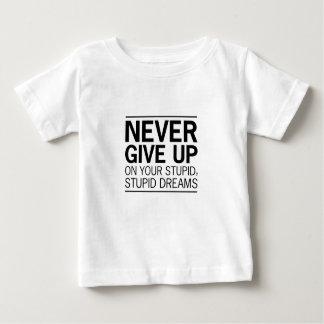 Dumme dumme Träume Baby T-shirt