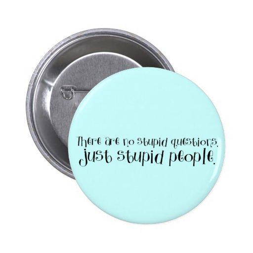 Dumme Leute Button