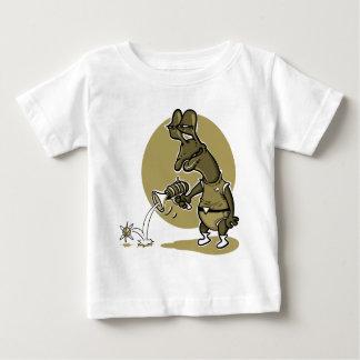 dummer alientrieb-Single-Elektron-Cartoon Baby T-shirt