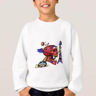 DUMMKOPF (Rock-and-Roll) Z-Kunst Sweatshirt