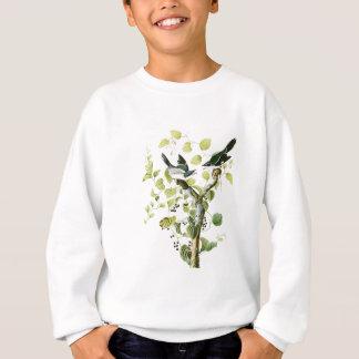 Dummkopf Shrike John Audubon Vögel von Amerika Sweatshirt