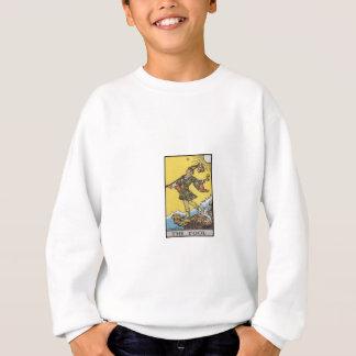 Dummkopf-Tarot-Dualkartenverarbeitung Sweatshirt
