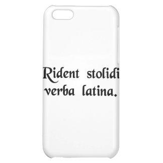Dummkopflachen an der lateinischen Sprache Hüllen Für iPhone 5C