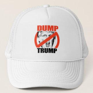 Dump-Trumpf - Anti-Trumpf - Trumpf-Wahl-Entwurf - Truckerkappe