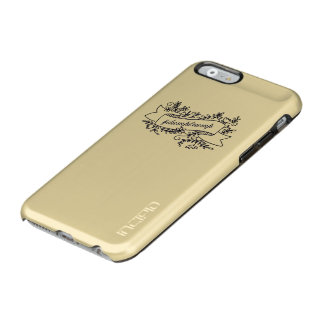 Dump-Trumpf-hübscher Blumentelefon-Kasten Incipio Feather® Shine iPhone 6 Hülle