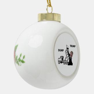 Dump-Trumpf Keramik Kugel-Ornament