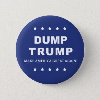 Dump-Trumpf-Knopf   klagen den Präsidenten Now an Runder Button 5,1 Cm