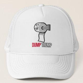 Dump-Trumpf mit Toilettenpapier - Anti-Trumpf - Truckerkappe