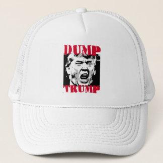 DUMP-TRUMPF - ROTE BUCHSTABEN - Anti-Trumpf - Truckerkappe