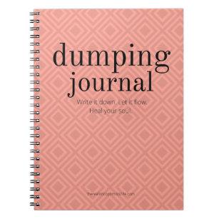 Dumping Zeitschrift - Mandarine Notizblock