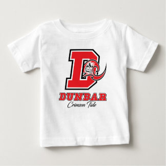 Dunbar hochroter Gezeiten-Stolz Baby T-shirt