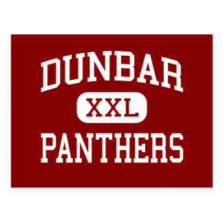 Dunbar - Panther - Jüngeres - Lubbock Texas Postkarte