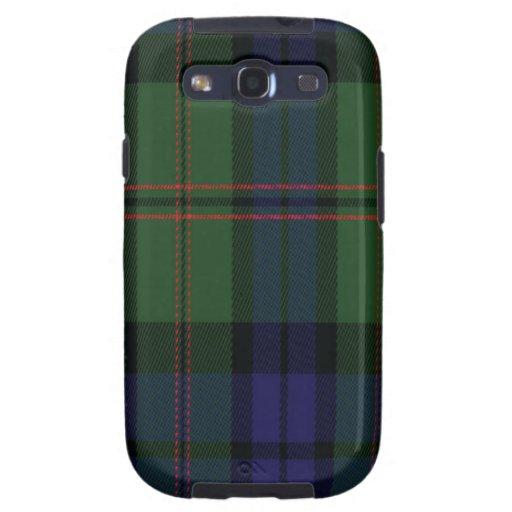 Dundas schottischer Tartan Samsung rufen Fall an Samsung Galaxy S3 Etuis
