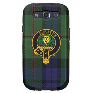 Dundas schottisches Wappen und Tartan S3 rufen Schutzhülle Fürs Samsung Galaxy S3