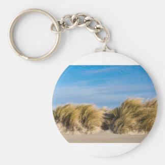 Düne auf dem Strand der Ostsee Schlüsselanhänger