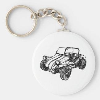 Dünen-Buggy Schlüsselanhänger