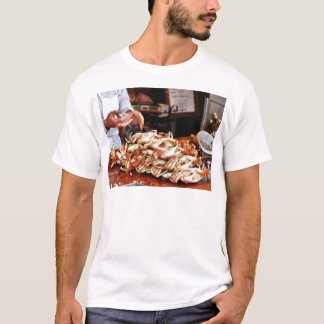 Dungeness Krabbe an Fishermans Kai in San Francisc T-Shirt