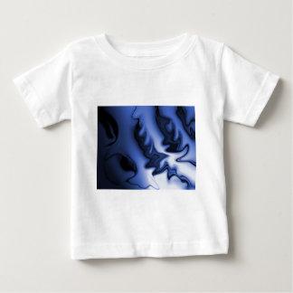 dunkel-und-mysteriös-blau baby t-shirt