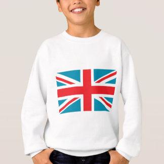 Dunkelblaue Flagge Gewerkschafts-Jack-Briten Sweatshirt
