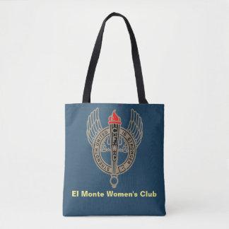 Dunkelblaue mittlere Tasche des Vereins Frauen EL