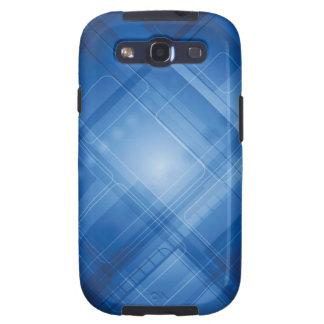 Dunkelblauer High-Techer Hintergrund Galaxy S3 Hüllen
