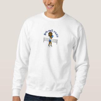 Dunkelblaues Mädchen-Boxen Sweatshirt