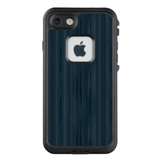 Dunkelblaues Woodgrain-Muster LifeProof FRÄ' iPhone 8/7 Hülle