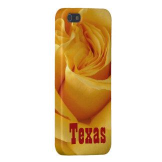 Dunkelgelbes Rose-TEXAS Schutzhülle Fürs iPhone 5