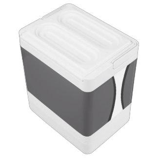Dunkelgrauer Punkt Kühlbox