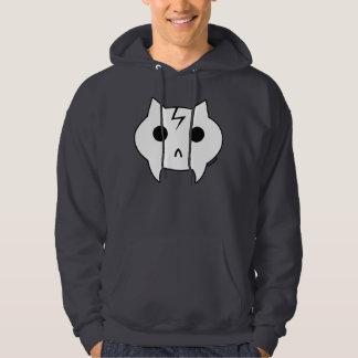 Dunkelgraues mit Kapuze Sweatshirt