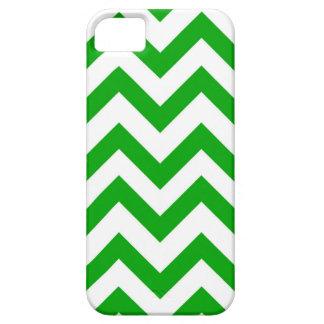 Dunkelgrüne und weiße Sparren Schutzhülle Fürs iPhone 5
