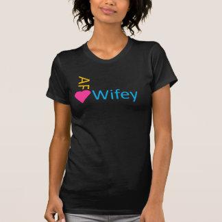 Dunkelheit Neon AF Wifey T-Shirt