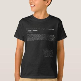 Dunkelheit NSA-Leck-4G T-Shirt