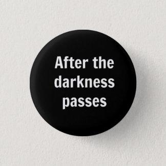 Dunkelheit Runder Button 3,2 Cm