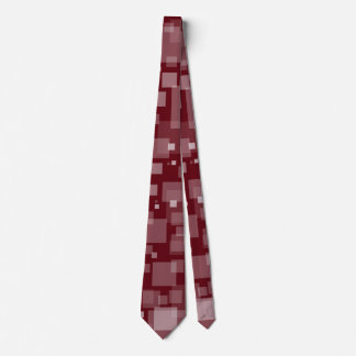 Dunkelrote Digital-Schnee-Krawatte Krawatte
