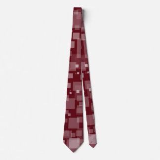 Dunkelrote Digital-Schnee-Krawatte Personalisierte Krawatten