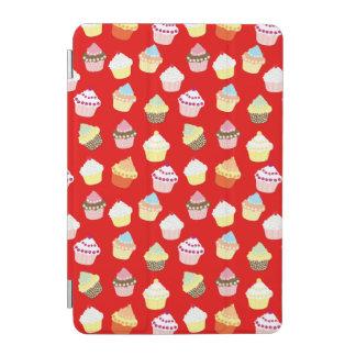 Dunkelrote Valentinsgruß-Schalen-Kuchen iPad Mini Cover