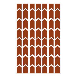 Dunkelrote Zaun-Platte Briefpapier