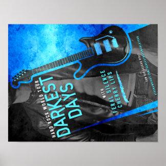 Dunkelste Tage durch Ausflug-Plakat Athene Wright Poster