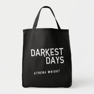 Dunkelste Tage durch schwarze Taschen-Tasche Tragetasche